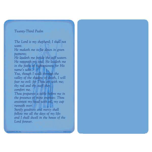 "5"" x 8"" Blue 23rd Psalm Album, 23rd Psalm"