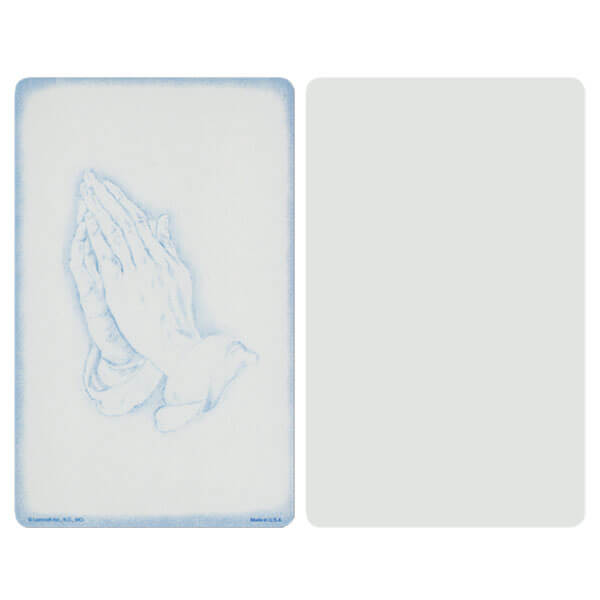 "5"" x 8"" Grey Praying Hands Album, No Verse"