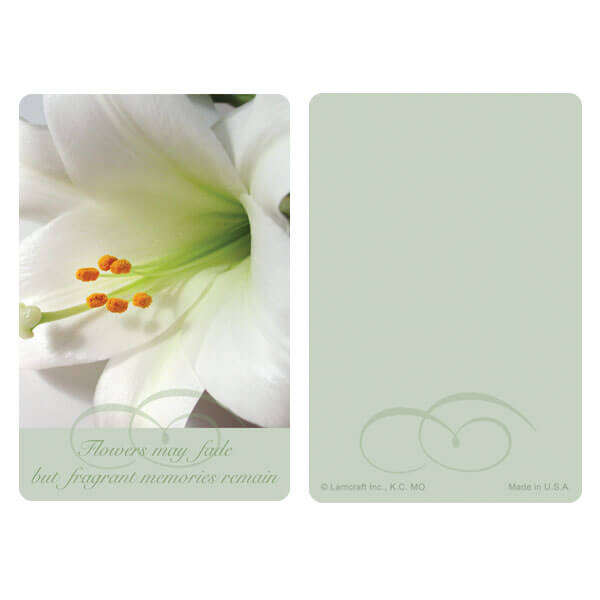 "3"" x 4-1/2"" Lily PMC Pocket, Fragrant Memories"