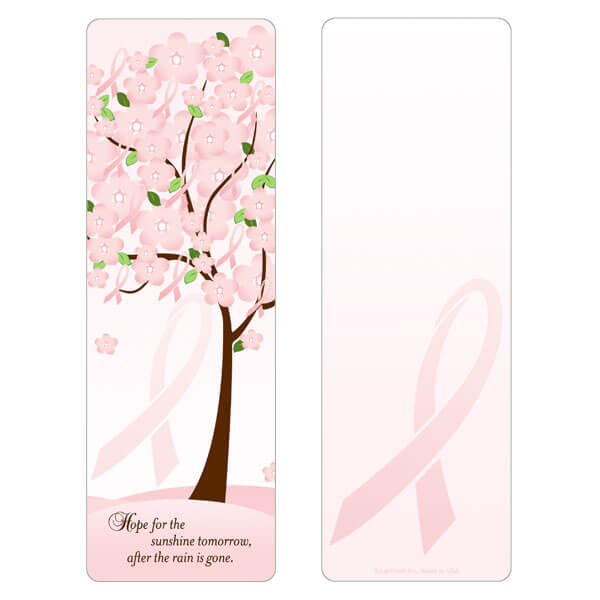 "3"" x 9"" Blossoming Hope bookmark, Hope"