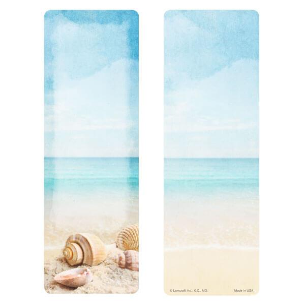 "3"" x 9"" Seashells bookmark, No Verse"