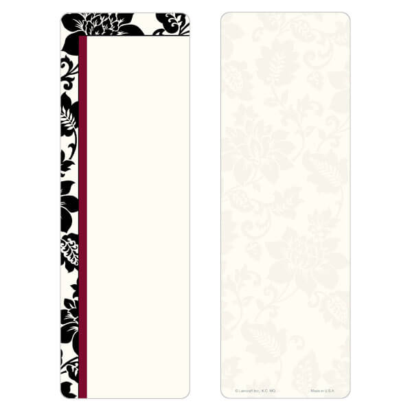 """3"""" x 9"""" Silhouette Expressions bookmark, No Verse"""