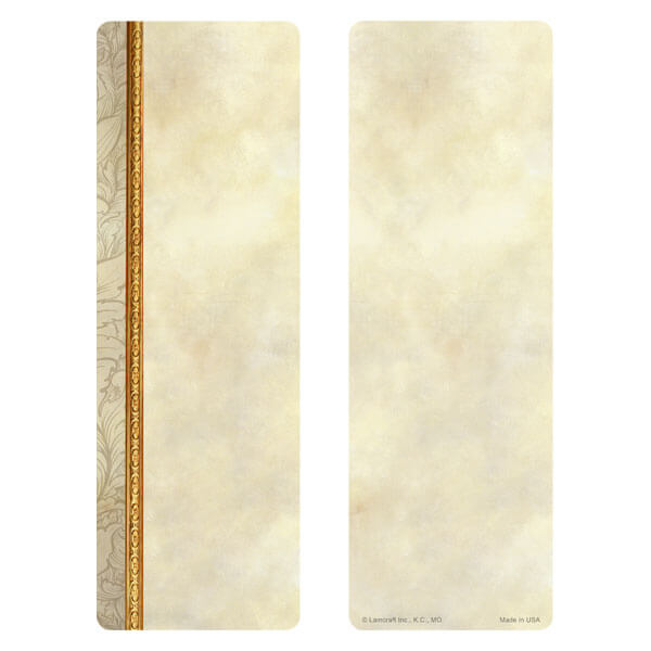 "3"" x 9"" Antique Border bookmark, No Verse"