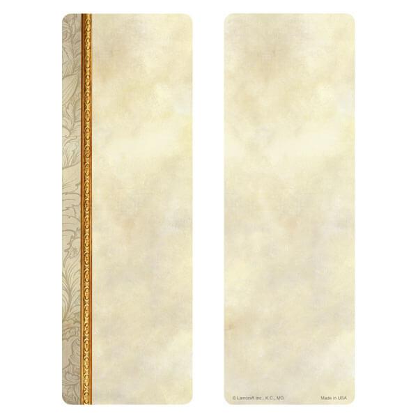 "3"" x 9"" Antique Border bookmark, No Verse"