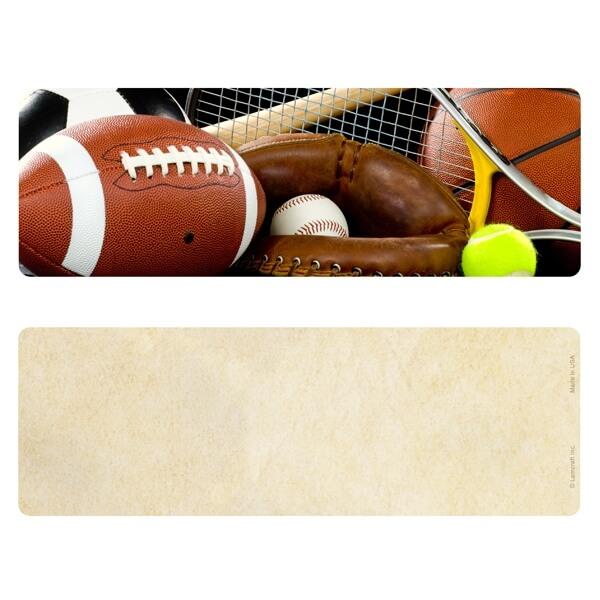 "3"" x 9"" Sports Premium Memorial Bookmark, No Verse"