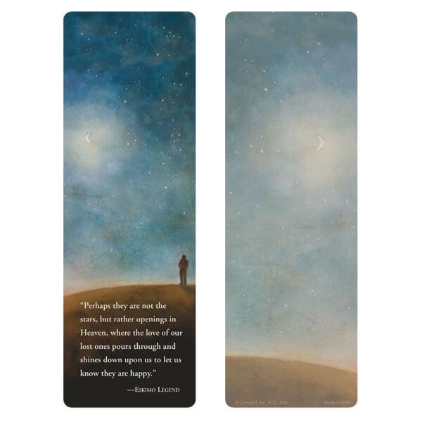 """3"""" x 9"""" Night Sky bookmark, Eskimo Legend"""