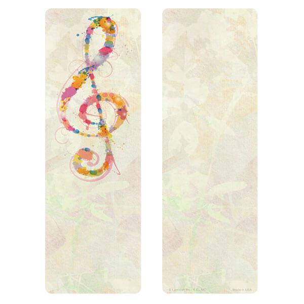 "3"" x 9"" Music PMC Bookmark, No Verse"