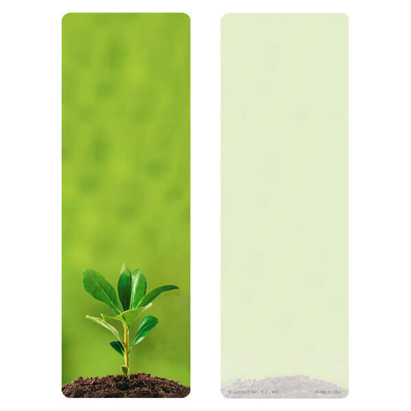 "3"" x 9"" Growth PMC Bookmark, No Verse"