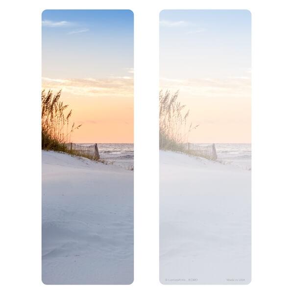 "3"" x 9"" Sandy Beach Premium Memorial Bookmark, No Verse"