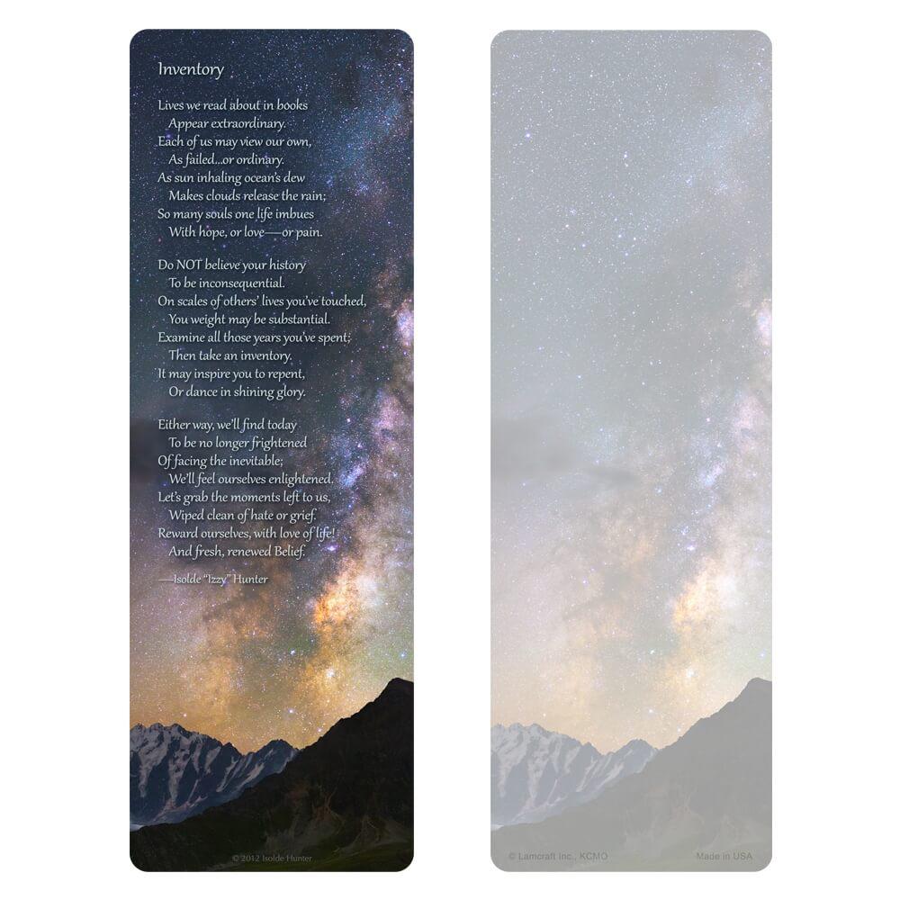 "3"" x 9"" Milky Way PMC, Inventory verse"