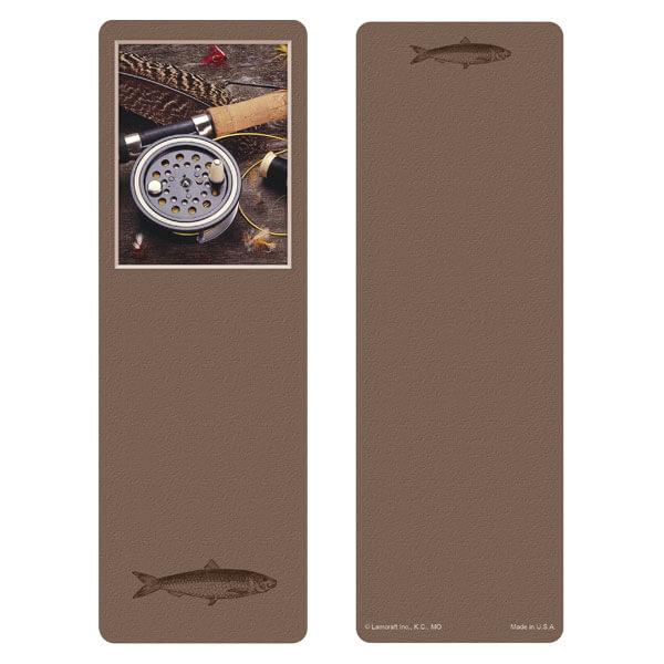 "3"" x 9"" Fly Fishing bookmark, No Verse"