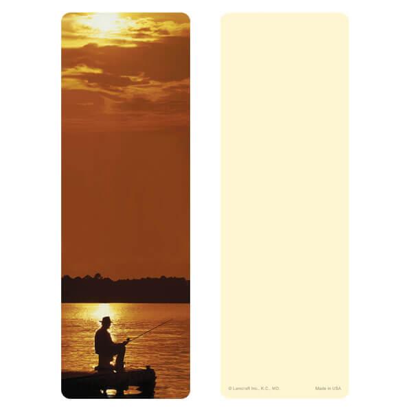 "3"" x 9"" Fisherman bookmark, No Verse"
