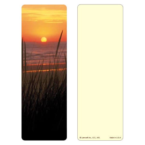 """3"""" x 9"""" Sea Oats bookmark, No Verse"""
