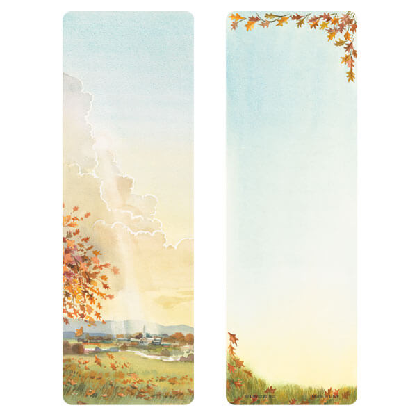"3"" x 9"" Meadow bookmark, No Verse"