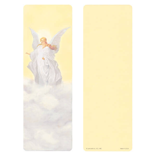 """3"""" x 9"""" Guardian Angel bookmark, Safely Home"""