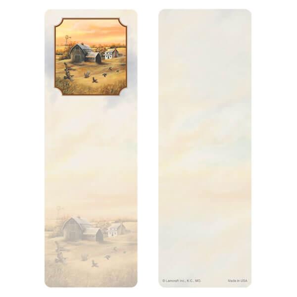 "3"" x 9"" Homestead (Quail) bookmark, No Verse"