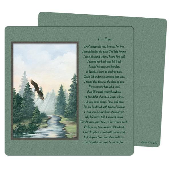 """5"""" x 5"""" Spirit of Flight PMC Mini-Album, I'm Free"""