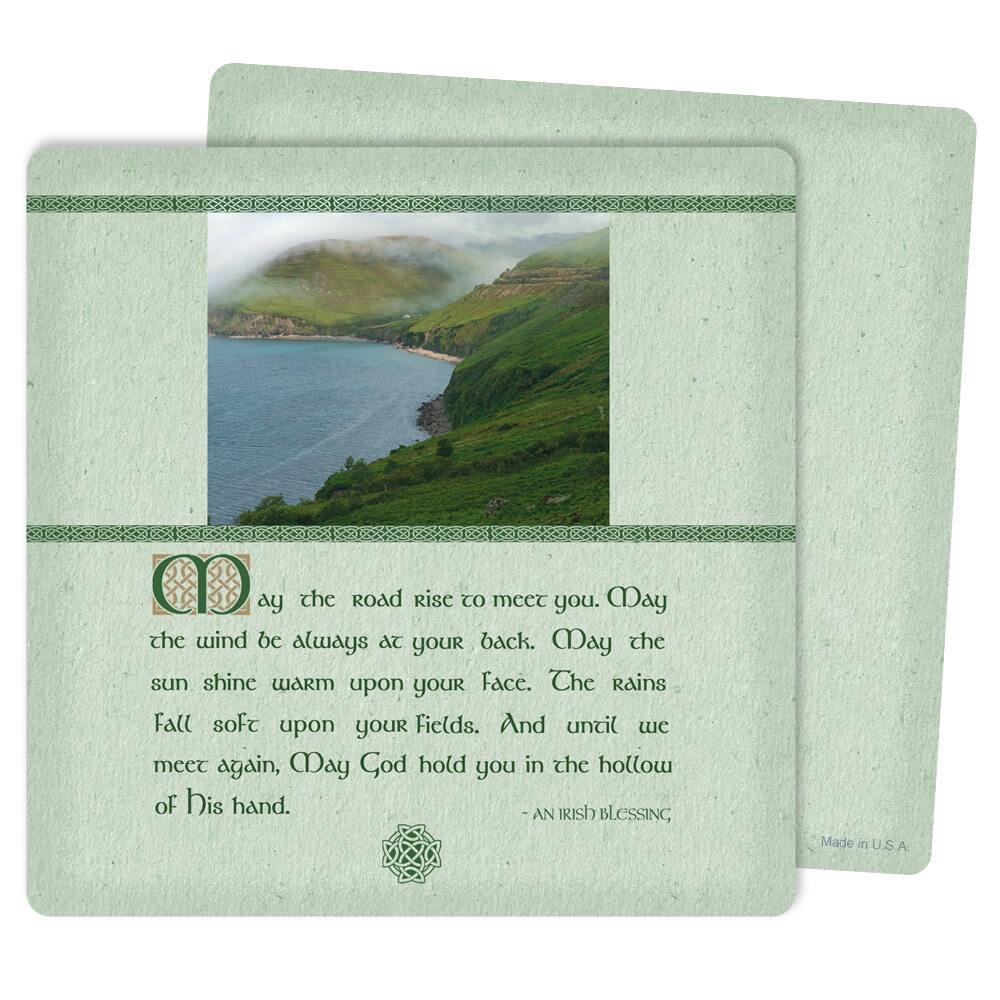 """5"""" x 5"""" Irish Blessing PMC Mini-Album, Irish Blessing"""