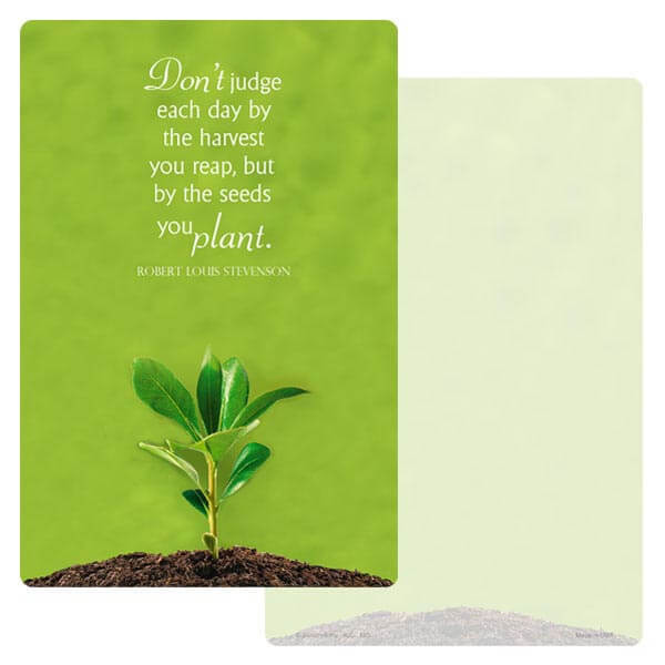 "6"" x 9"" Growth Album, Seeds You Plant"