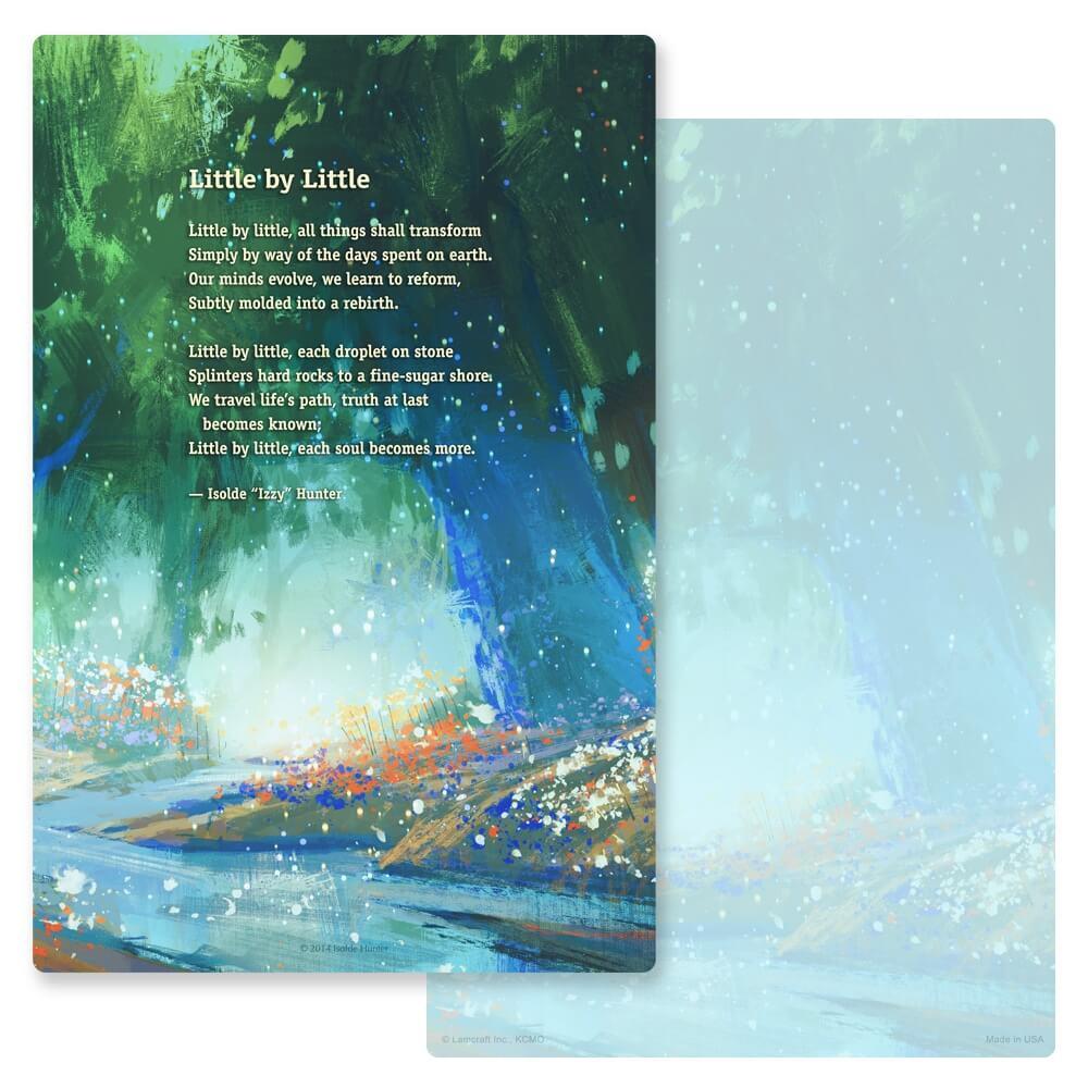 "6"" x 9"" Bright Stream PMC Album, Little by Little"
