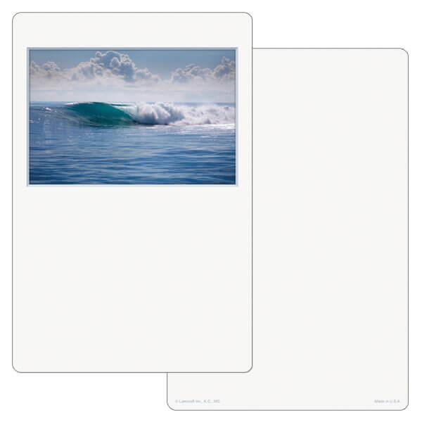 """6"""" x 9"""" Tranquil Ocean PMC Album, No Verse"""