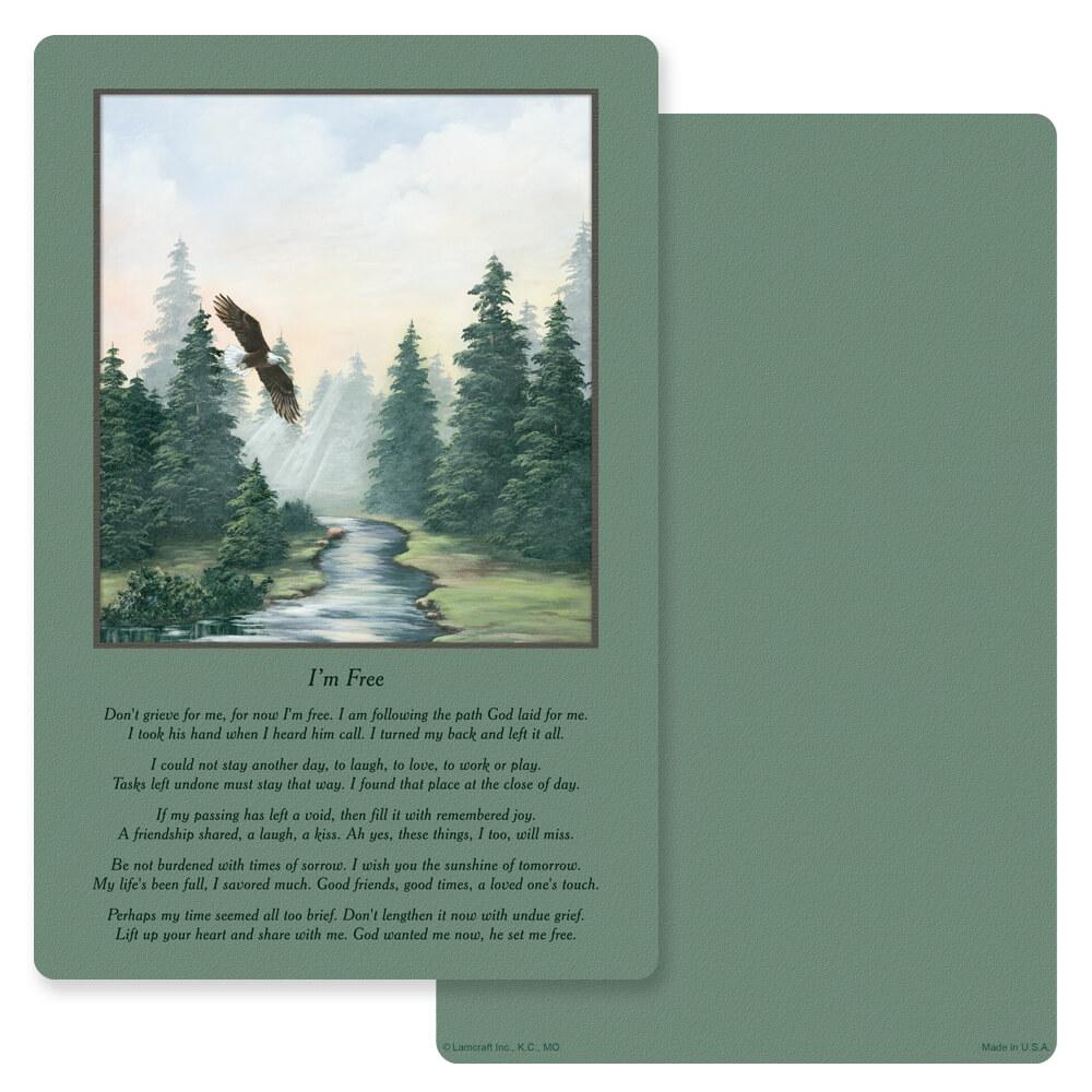 """6"""" x 9"""" Spirit of Flight PMC Album, I'm Free"""
