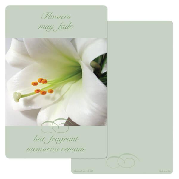 """6"""" x 9"""" Lily PMC Album, Fragrant Memories"""