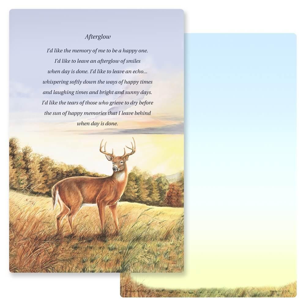 """6"""" x 9"""" Deer PMC Album, Afterglow"""