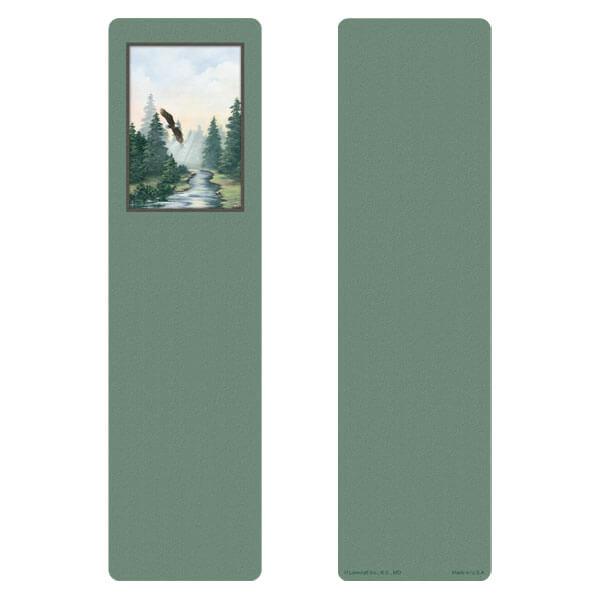 "3"" x 11"" Spirit of Flight large bookmark, No Verse"