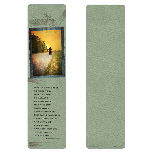 "3"" x 11"" Cross Country PMC Large Bookmark, Irish Blessing"
