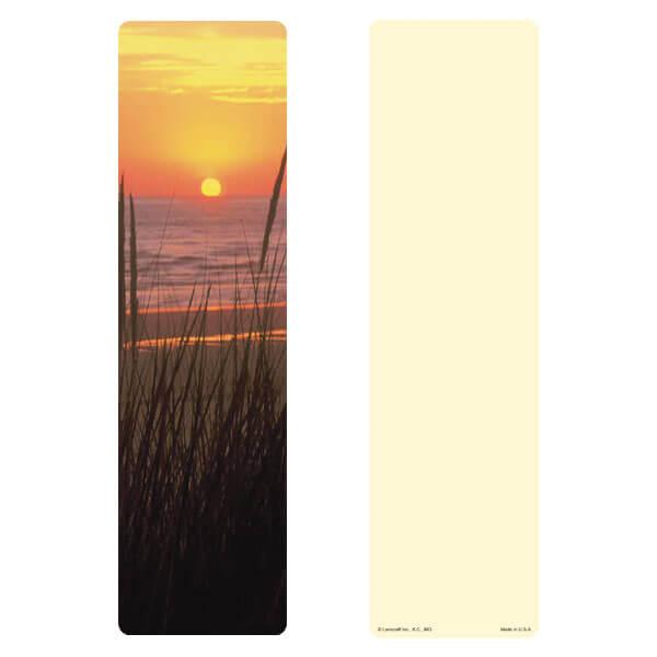 "3"" x 11"" Sea Oats large bookmark, No Verse"
