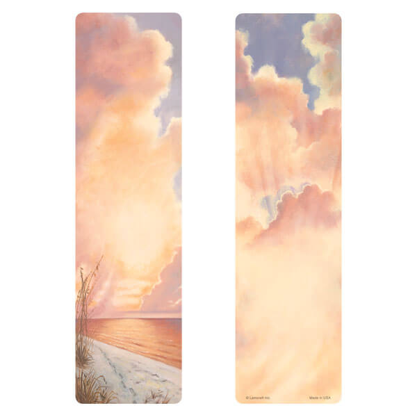 "3"" x 11"" Footprints large bookmark, No Verse"