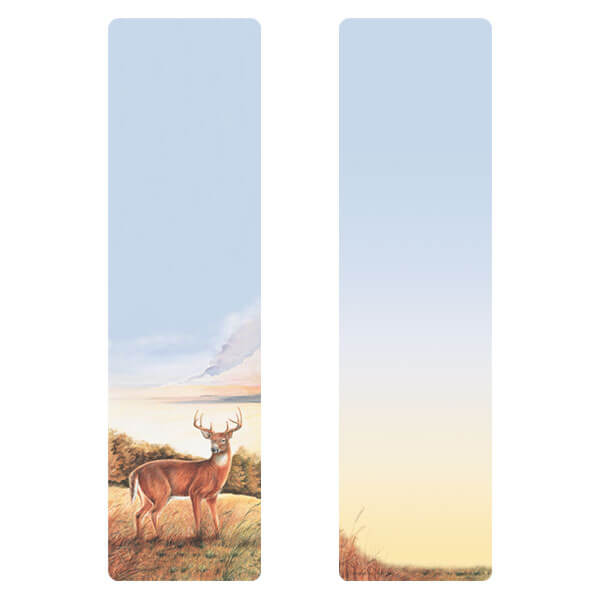 "3"" x 11"" Deer large bookmark, No Verse"