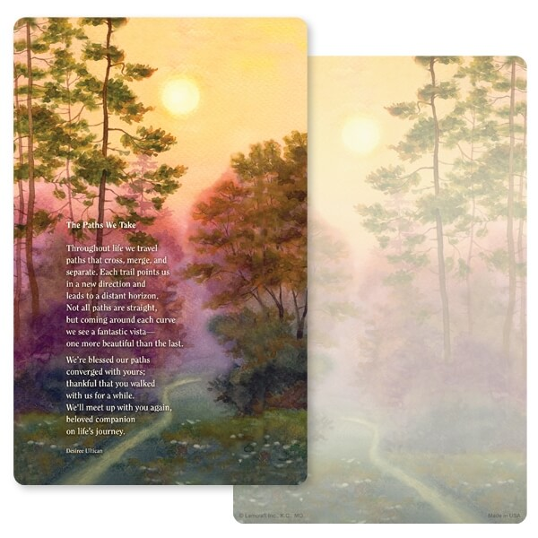 "5"" x 8"" Forest Path Junior Album, The Paths We Take"
