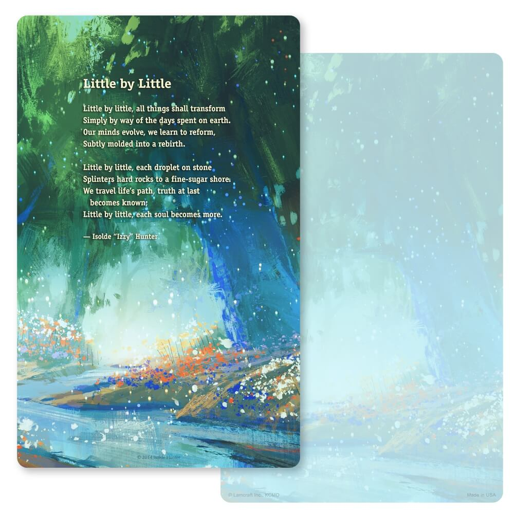 "5"" x 8"" Bright Stream Junior Album PMC, Little by Little"