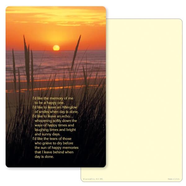 "5"" x 8"" Sea Oats Junior Album PMC, Afterglow verse"