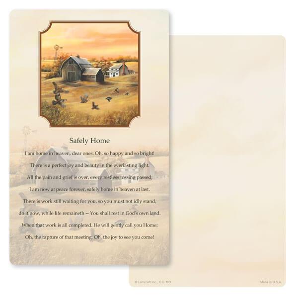 "5"" x 8"" Homestead (Quail) PMC Junior Album, Safely Home"