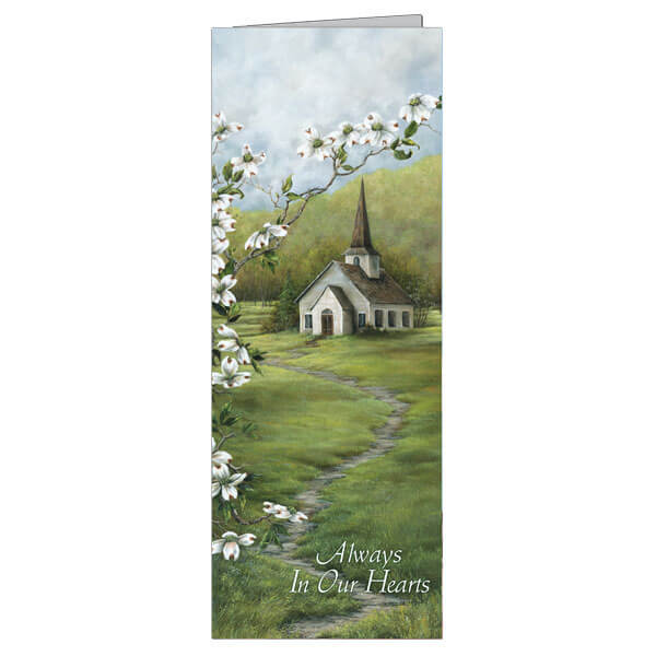 "4-3/4"" x 11-1/8"" Extra Large Coming Home Presentation Card, White Envelope"