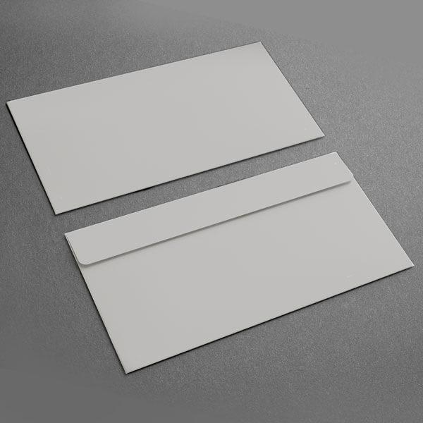 Small Presentation Card Envelope, Grey