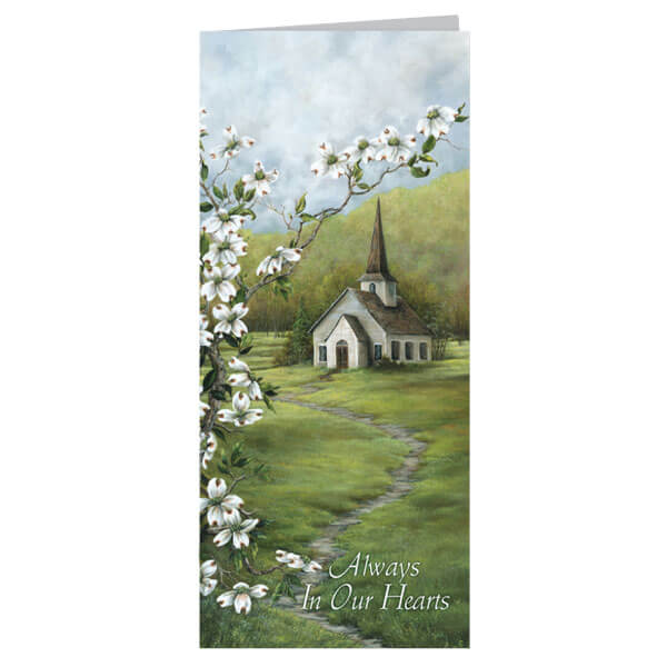 "4-1/8"" x 9-1/8"" Small Coming Home Presentation Card, White Envelope"