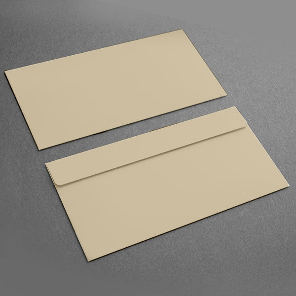 Small Presentation Card Envelope, Tan