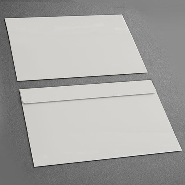 Large Presentation Card Envelope, Grey