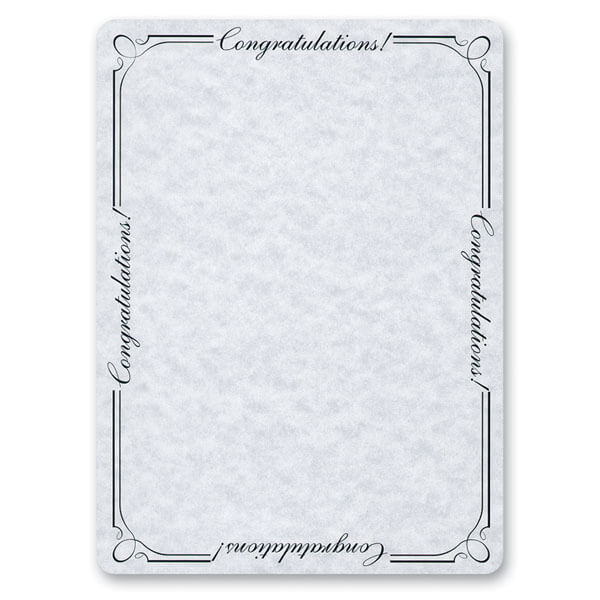 "5-3/4"" x 7-3/4"" Congratulations Photo Pouch with Matching Envelope"