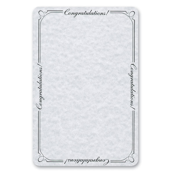 "6"" x 9"" Congratulations Album Pouch with Matching Envelope"