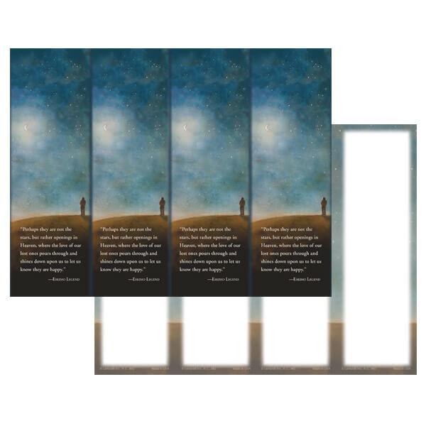 4-up Night Sky Micro-Perf Bookmark, Eskimo Prayer