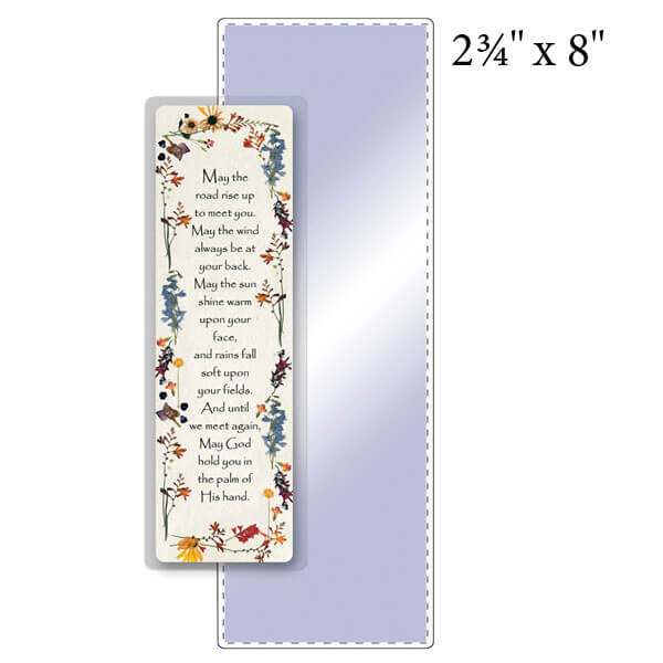 "2-3/4"" x 8"" Bookmark Pouch - 7 Mil"