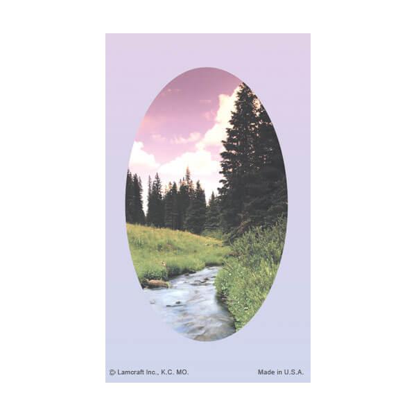 8-up Wilderness Micro-Perf Prayer Card, No Verse