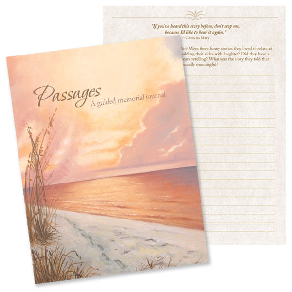 Footprints Memorial Journal