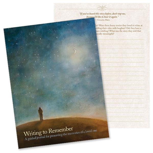 Night Sky Memorial Journal