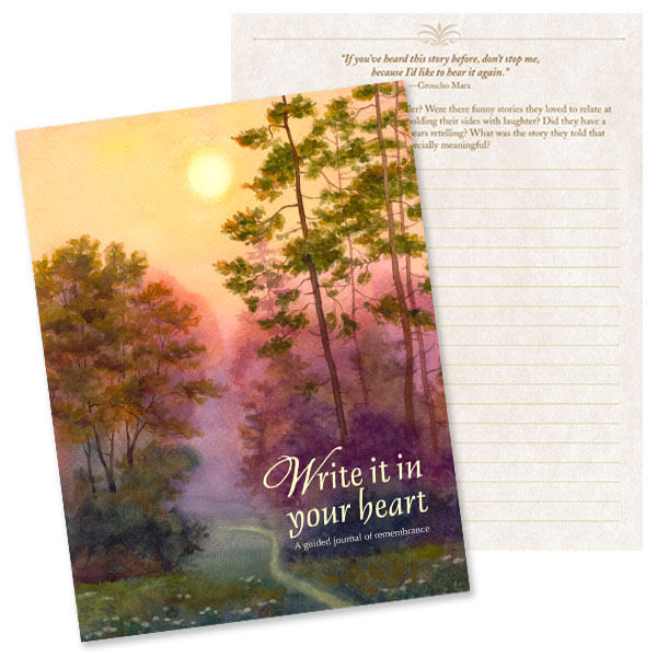 Forest Path Memorial Journal
